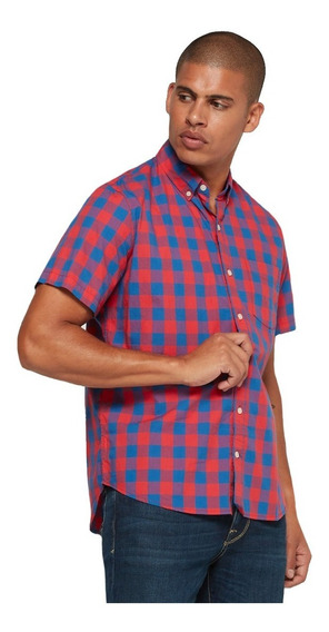 Camisa Hombre Casual Manga Corta Vestir 443349 Gap