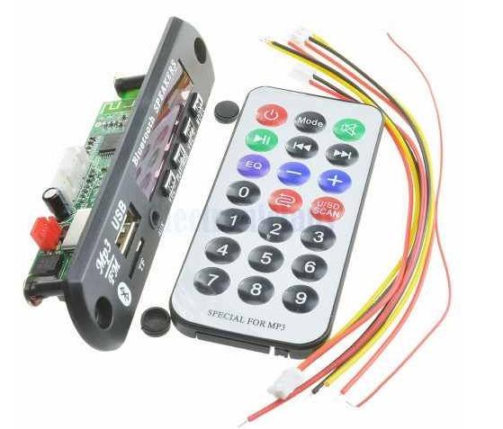10 X Placa P/amplificador/ Modulo Usb Caixa Ativa Mp3 Blueto