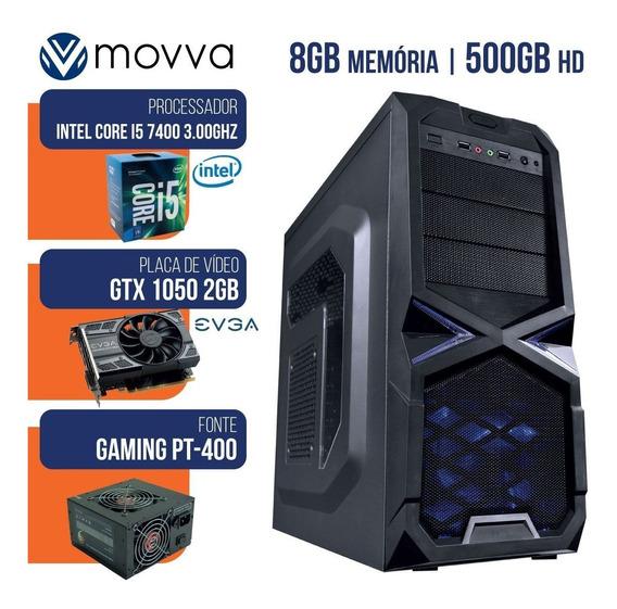 Cpu Gamer Mvx5 Intel I5 7400 3.0ghz 7ª Me 8gb Hd 1tb Ssd-120