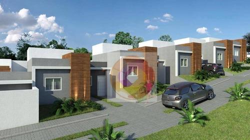 Casa Com 2 Dormitórios À Venda, 50 M² Por R$ 210.000,00 - Thomaz Coelho - Araucária/pr - Ca0168