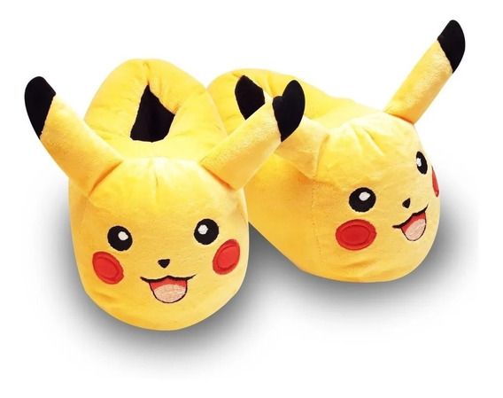Pantuflas Pikachu Pokemon Kawaii