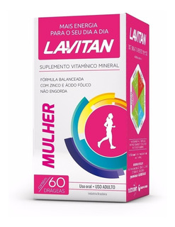 Polivitamínico Lavitan Mulher (c/60x01)(7793)