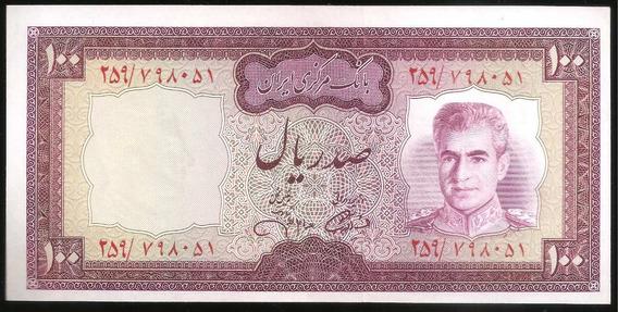 Iran, Reino, 100 Rials, 1971-1973. P#91. Sin Circular