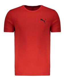 Camiseta Puma Active Vermelha