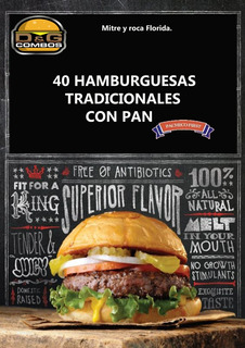 40 Hamburguesas Con Pan