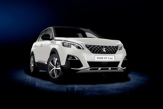 Peugeot 3008 Gt Line 2020, 1.6thp 4 Cil., Gris Platinium