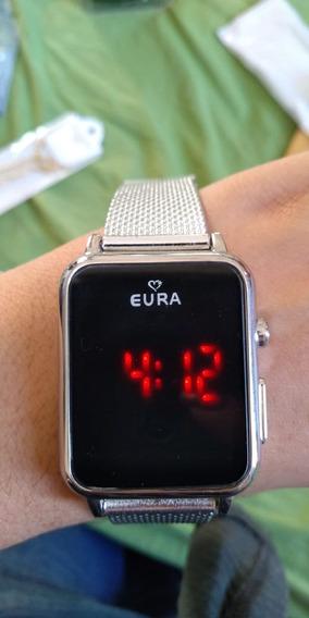 Nova Tendência Dos Pulsos!! Relógio Digital Eura!!