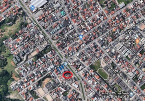 Imagem 1 de 3 de Terreno À Venda, 2392 M² Por R$ 5.950.000,01 - Bela Vista - São José/sc - Sc - Te0024_ccon