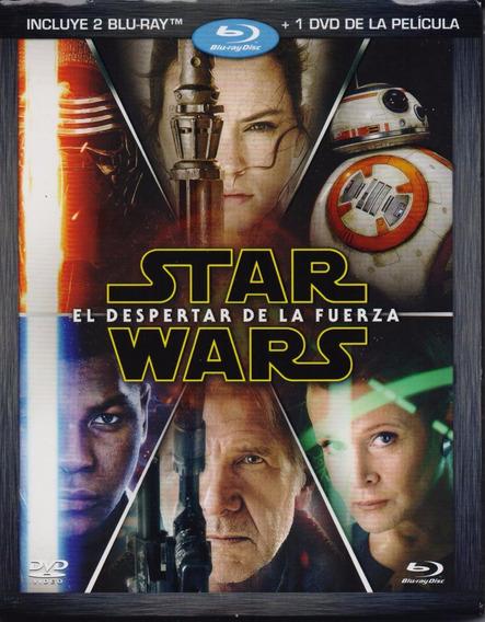Star Wars Episodio 7 El Despertar De La Fuerza Blu-ray + Dvd