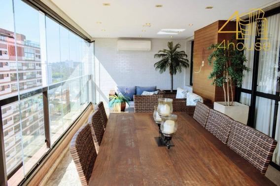Apartamento Com 3 Dormitórios À Venda, 167 M²- São Paulo/sp - Ap2448