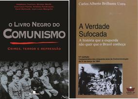O Livro Negro Do Comunismo - A Verdade Sufocada - 2 Livros
