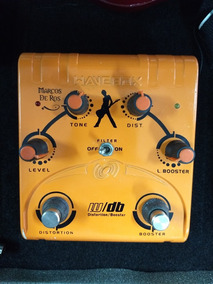 Pedal Wavebox Marcos De Ros Distortion/booster
