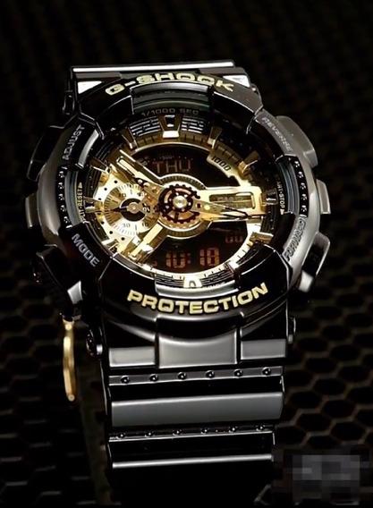 Relógio De Pulso Esportivo Casio G-shock Ga100 Masculino 100