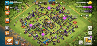 Vendo Aldea Coc Th11 Recién Subida