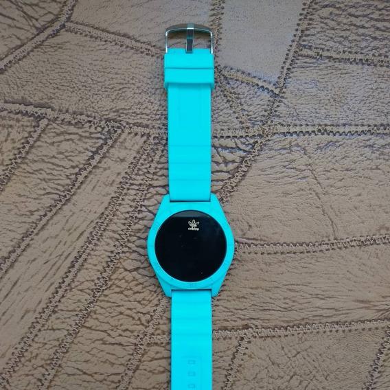 Relógio Touch Screen Azul