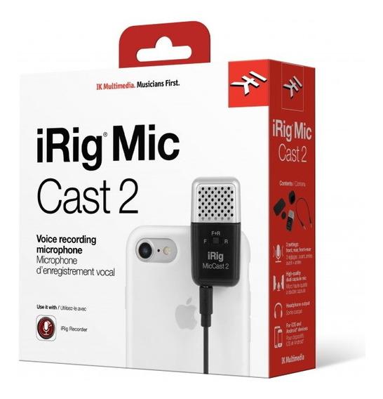 Microfone Para Voz Irig Mic Cast 2 - Ik Multimidia