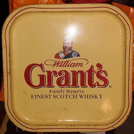 Bandeja De Chapa De Whisky Grants