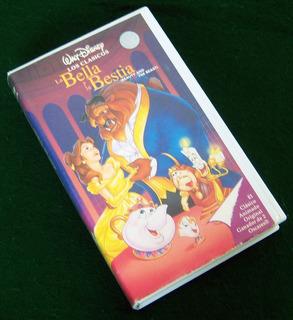Película En Vhs: La Bella Y La Bestia - Walt Disney