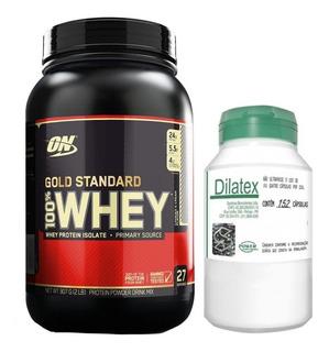 Whey Gold Standard 907g + Dilatex