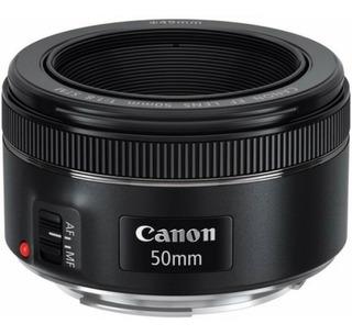 Lente Canon Ef 50mm F/1.8 Stm Nuevo Sellado