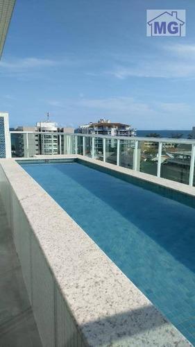 Cobertura Com 4 Dormitórios Para Alugar Por R$ 5.700/mês - Praia Do Pecado - Macaé/rj - Co0024