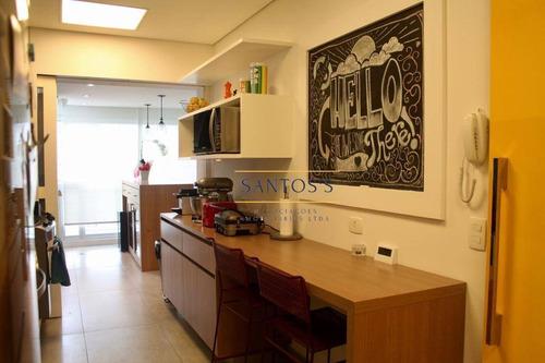 Imagem 1 de 30 de Apartamento, 138 M² - Venda Por R$ 1.950.000,00 Ou Aluguel Por R$ 11.000,00/mês - Brooklin - São Paulo/sp - Ap1489