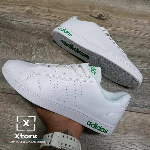 Tenis adidas Neo Scarpe Blanco Y Verde Hombre, Zapatillas. - $ 144.900