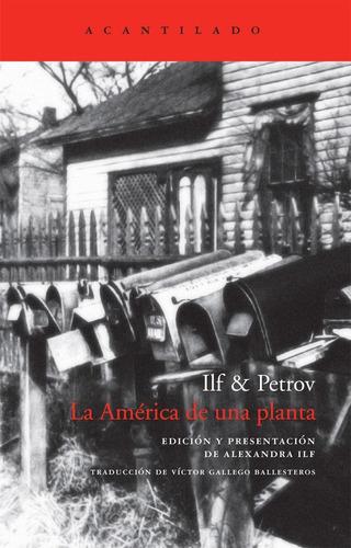 Imagen 1 de 3 de La América De Una Planta, Eugeny Petrov, Acantilado