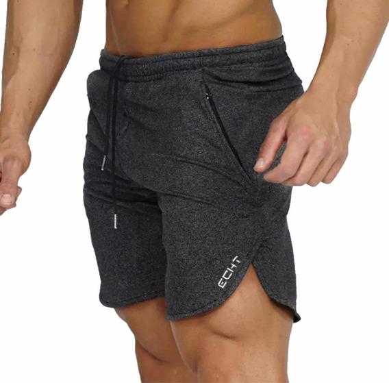 Gym Short Deportivos Elásticos Calidad Ajuste Perfecto Moda