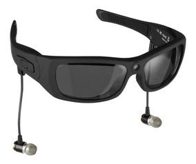 Óculos Espião Camera Hd Bluetooth Mp3 Estilo Oakley Cam+vid