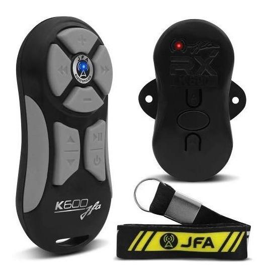 Controle Longa Distancia Jfa Branco Com Cinza K600