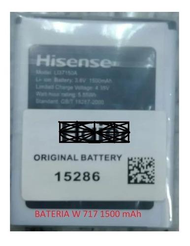Bateria Pila W 717 1500 Mah