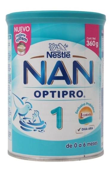 Fórmula para lactantes en polvo Nestlé Nan OptiPro 1 en lata de 360g