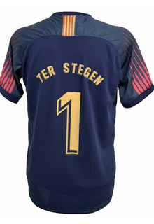 Camisa Do Goleiro Ter Stegen Do Barça 2019/20