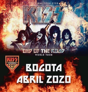 Boletas Boleteria Kiss End On The Road 2020 Bloque 316