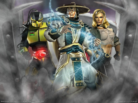 Mortal Kombat Deadly Alliance Ps2 É Multijogador Sony 1994