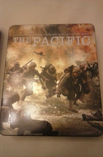 The Pacific Serie Blue Ray Caja Metal