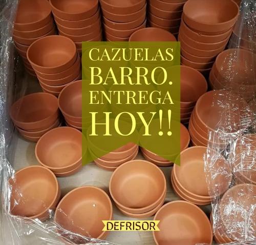Imagen 1 de 9 de Cazuela Barro 17 Cms. Fabrica Directo Al Público. Local Once