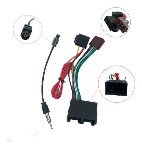 Plug Chicote Som + Adaptador Antena Ford Ka 2019 2020