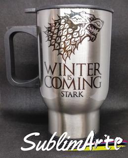 Termo Game Of Thrones De La Casa Stark
