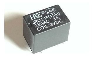 Mini Relé Jrc-21f 4100 3v - 6 Pines