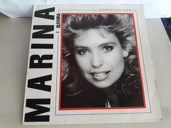 Lp Marina De Oliveira Acredito No Amor