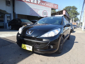 Financiamos 100%! Peugeot 207 2009 Sw 1.4 Xr Sport Flex 5p