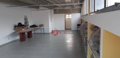 Salão Para Alugar, 70 M² Por R$ 2.500,00/mês - Vila Esperança - São Paulo/sp - Sl0003