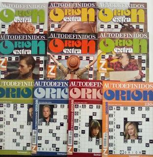 Revista Orion Pasatiempos Autodefinidos Paquete 10 Revistas