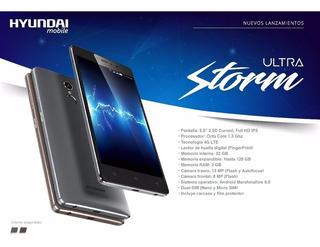 Celular Ultra Storm Hyndai 32 Gb + 3 Gb Ram