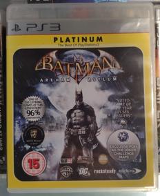 Batman Arkham Asylum® Ps3 Mídia Física Frete R$ 10