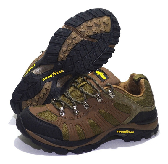 Zapatillas Good Year Modelo Trekking Samara Mesh