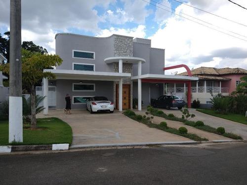 Casa Com 4 Dormitórios À Venda, 500 M² - Residencial Dos Lagos - Itupeva/sp - Ca0232