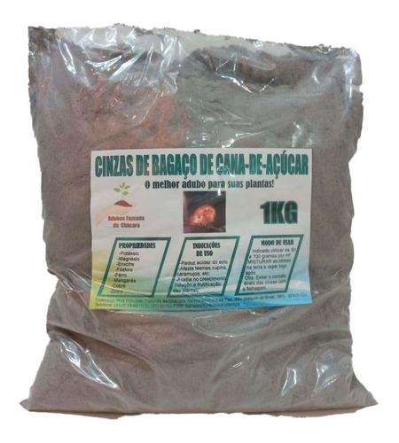 Cinza Vegetal De Bagaço De Cana Peneiradas Adubofertilizante